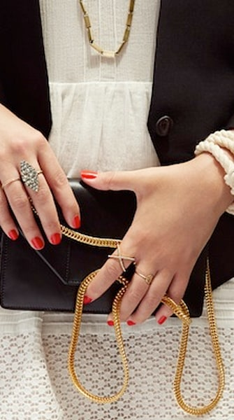 We're really excited for the Stripes & Sequins x BaubleBar collab
