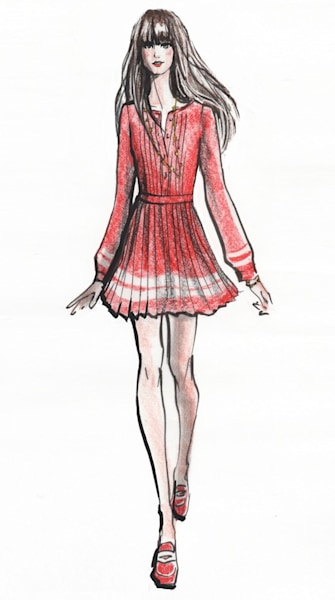 To Tommy, From Zooey: Zooey Deschanel-inspired dresses from Tommy Hilfiger
