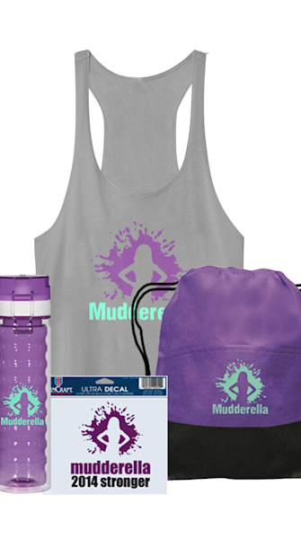 Enter for a chance to win the ultimate Mudderella prize pack