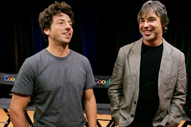 Larry Page and Sergey Brin give Sundar Pichai control of Alphabet and Google