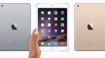 iPad mini 3、2、そして初代の仕様比較。2から3への改良点はTouch IDとゴールドカラーの追加