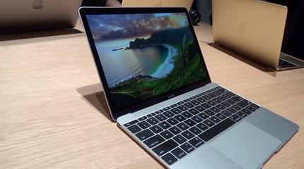 アップル、新MacBookを発売。当初はオンライン限定、税別14万4800円から