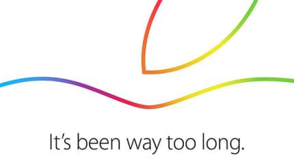アップル新 iPad発表イベント速報