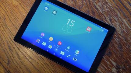 ソニーXperia Z4 Tablet発表、Snapdragon 810と10.1型2560×1600液晶搭載で389g、6.1mmを実現