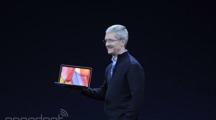 速報:新MacBook発表。12インチ2304x1440液晶、920gでファンレス、ポートはUSB TypeCのみ