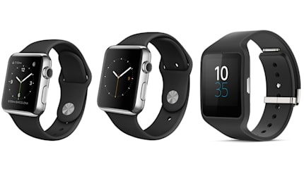 Apple Watch 対 ソニー SmartWatch 3 機能・仕様比較。Watch OS と Android Wear
