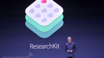 アップル、医療研究を助けるResearchKit発表。iPhoneユーザーからデータ取得、研究機関に直接送信