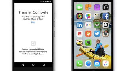 アップル、Android から iOS 9 への環境引っ越しアプリ Move to iOS 発表。今秋公開