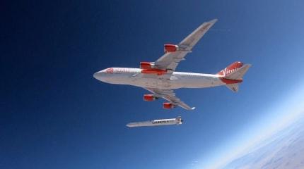 Virgin Orbit 首次火箭释放测试成功