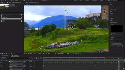 Adobe 的 After Effects 现在可以去掉影像中不必要的元素了