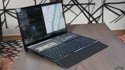 华硕发布半个键盘面都是触控屏幕的 ZenBook Duo 系列笔电