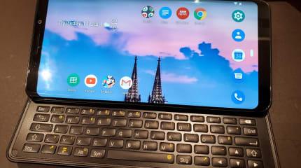 QWERTYキーボード付きスマホ「F(x)tec Pro 1」実機レビュー。グラつきもなく打鍵感も良好