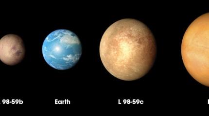 NASAの系外惑星探索衛星、地球よりも小さな惑星を発見。ただし金星によく似た灼熱環境か