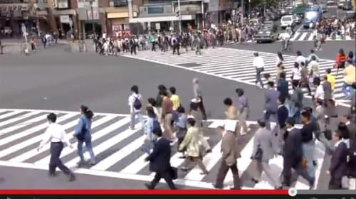 22年前の東京を映したハイビジョン映像が話題  何故か「おっさんだけは変わらない」