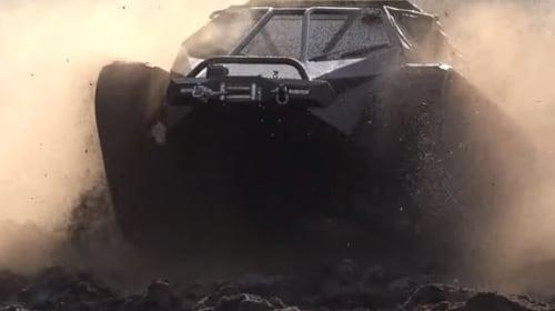地球上の陸路ならどこでもいける!?すさまじく高性能な高速戦車が公開
