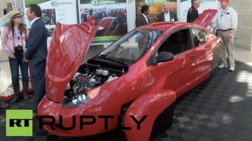 未来のアメ車は日本人向き?三輪自動車プロトタイプがカッコよすぎる【動画】