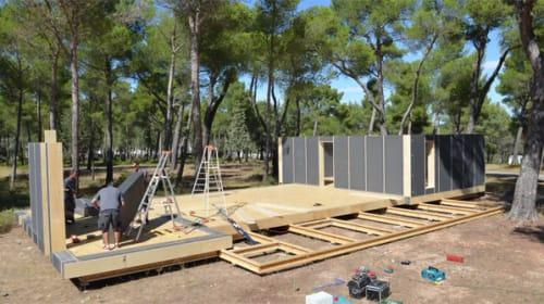 まるでIKEAの家具かよ!たった4日間で建てられる「家」が画期的すぎると話題に【動画】