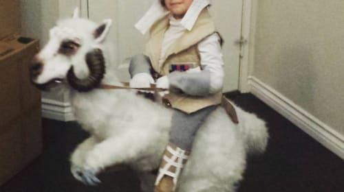 『スター・ウォーズ』ファンも絶賛! あのコスチュームを着た少年の愛らしさに世界中が悶絶
