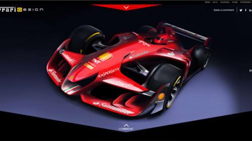未来のF1はこうなる?フェラーリが発表したコンセプト画像が美しすぎると話題に
