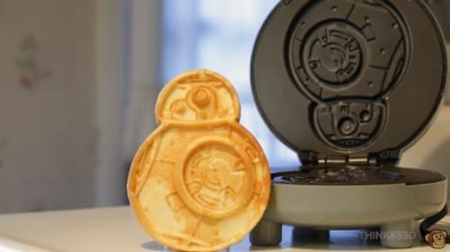 スター・ウォーズで始まる朝、BB-8型のワッフルメーカーがかわいい!