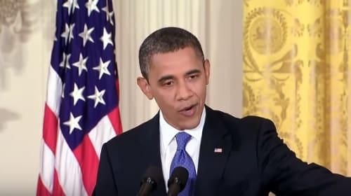 オバマ大統領のスピーチでマイケル・ジャクソンの「スリラー」を作ったマッシュアップ動画がスゴすぎる