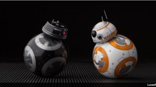 邪悪でもかわいい!『スター・ウォーズ/最後のジェダイ』に登場する「BB-9E」のスマートトイが発売【映像】
