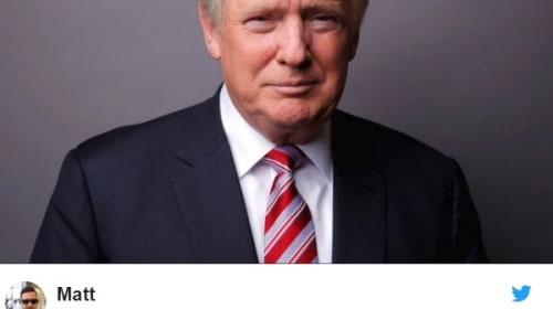 トランプ大統領を「普通の髪型」にしたコラ画像が話題に