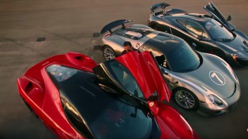 ポルシェ、マクラーレン、フェラーリ...世界最強のスーパーカー5台が対決する動画が胸アツすぎる