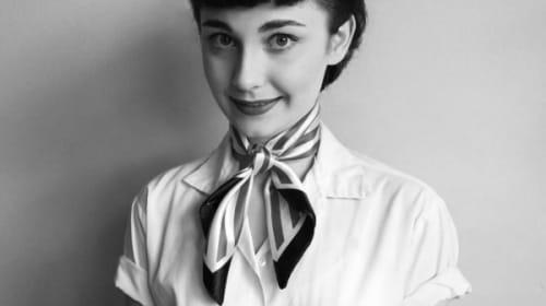 ヴィヴィアン・リー、オードリー・ヘップバーン... 銀幕のスター女優になりきる17歳の女子大生が激似レベルと話題に