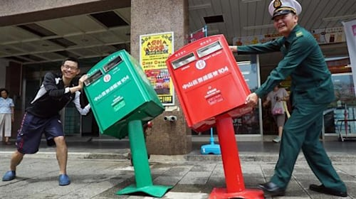 台湾のポストが「激萌え」と大人気!30分待ち長蛇の列の理由とは?