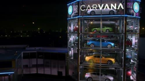 デカすぎかよ!アメリカには超巨大「車の自販機」があるらしい【動画】