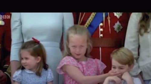 「しーっ!うるさい!」と従姉から注意を受けるジョージ王子が可愛過ぎる【映像】