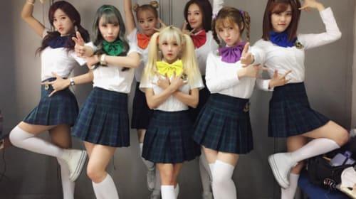韓国の美少女7人組アイドルが「セーラームーンすぎる」と話題に 「なにこれめちゃ可愛い」「変身してほしい」