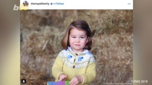 英ウィリアム王子が明かした、娘のシャーロット王女が今「執着」している物とは?