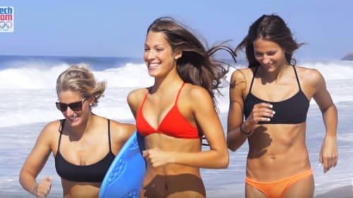 【金メダル級】チェコの五輪水泳チームによる「ベイウォッチ」風動画がすばらしい!
