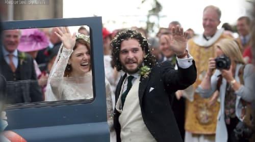 『ゲーム・オブ・スローンズ』カップルの結婚に、ファンから祝福の声殺到