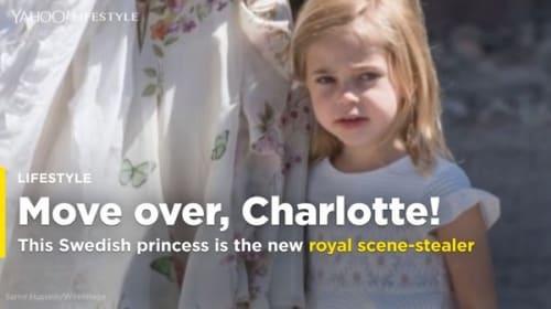世界が注目!スウェーデンのレオノール王女が妹の洗礼式でやりたい放題【映像】