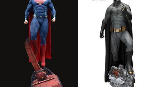 【アメコミファンに朗報】等身大のスーパーマンやバットマンフィギュアが当たる!DCスーパーヒーローTwitterキャンペーン開催
