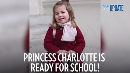 とってもキュート!英シャーロット王女が笑顔で幼稚園に初登園