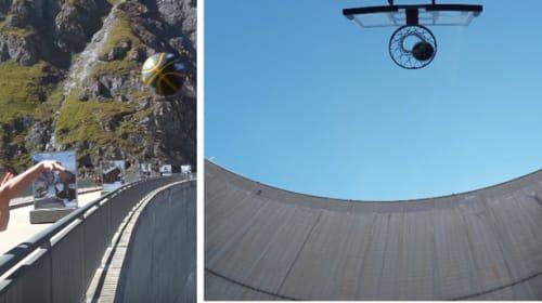 【衝撃】ダムの上181メートルの高さからシュート! ギネス記録を大幅に更新