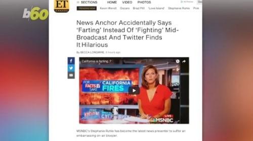 米国の女性アンカーが、真面目なニュースでまさかの言い間違え