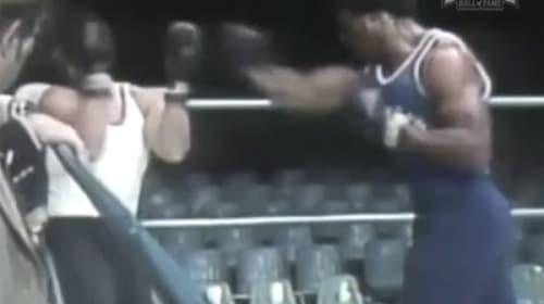 【実録】『ロッキー』シリーズで大ケガをしているスタローンがリハで殴られる映像がヤバすぎる