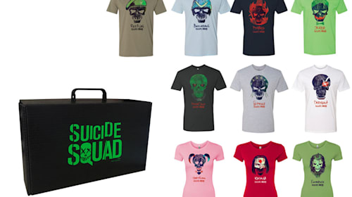 【募集終了】『スーサイド・スクワッド』オリジナルTシャツ10枚セットを1名様にプレゼント
