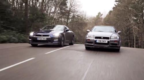 日産スカイライン、新旧GT-Rのガチバトルが話題に 「究極にカッコいい」「最高の車」