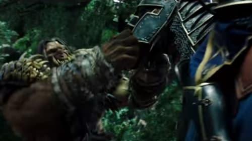 オークと人間のガチすぎる一騎打ち映像が大迫力でスゴすぎる!モフモフだけど獰猛のフロストウルフも黙っちゃいねえ!