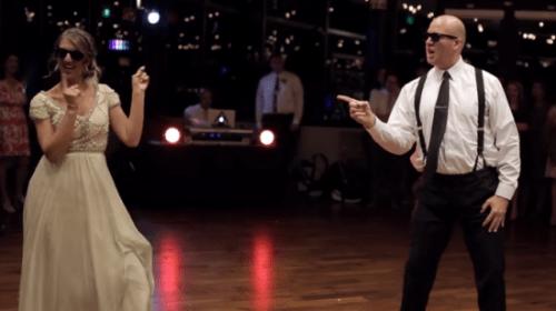 別れを惜しむ父と娘とのラストダンスと思いきや・・・父娘が結婚式で大ハッスルなダンスを披露! 笑いと涙を誘いネット上で話題に