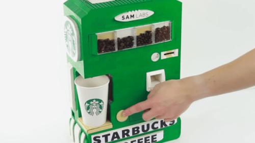 レゴ製のコーヒーマシンがスゴすぎて逆によくわからない【動画】