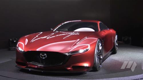 マツダ、RX-VISIONでロータリーエンジン車復活か?海外からも熱視線【動画】