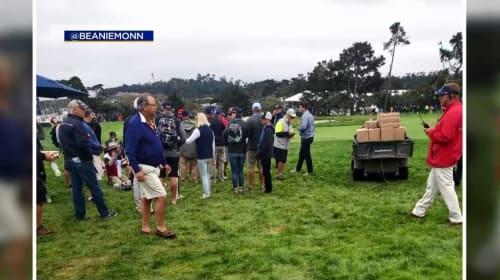 Runaway golf cart injures U.S. Open spectators in freak accident