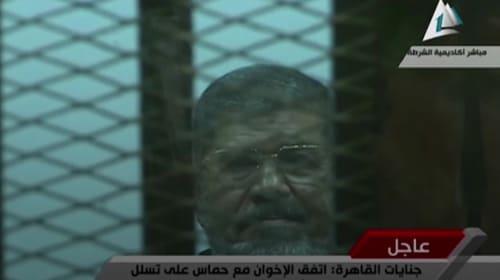Ousted Egyptian president Mohammed Morsi dies in court